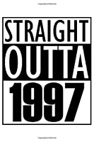 "Straight Outta 1997: Born in 1997 Journal Gift, Funny Birthday Card Alternative - White Edition - Vintage Blank Cornell Notes Line Paper Notebook 6 x 9"" with 120 Pages"