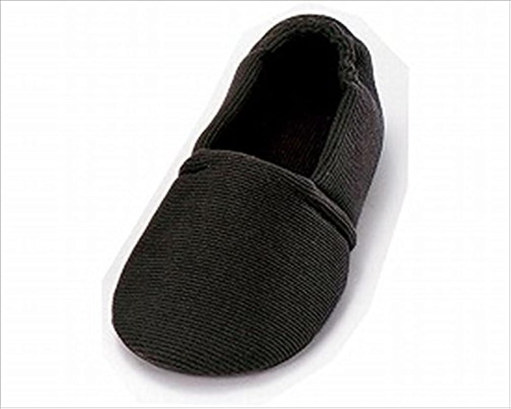 散歩に行く万一に備えて時々時々介護シューズ あゆみ エスパド 室内用 ブラック Sサイズ(20.5~21.5cm) 足囲3E相当 片足(左足)