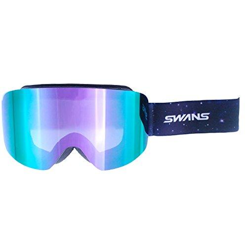 SWANS(スワンズ) ゴーグル スキー スノーボード O-120MDH GLBK グロスブラック