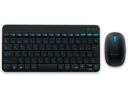 ロジクール ワイヤレスコンボ ブラック MK240SBK