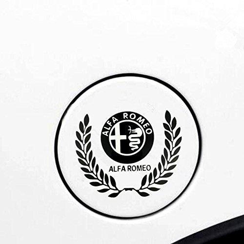 アルファロメオ 159 147 156 ジュリエッタ ミト 給油口 ステッカー 【輸入品】 黒