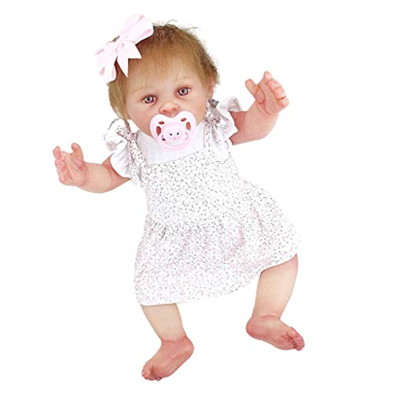 KESOTO 衣装付き 20インチリボーンドール 磁気おしゃぶり 哺乳瓶 赤ちゃん人形 新生児人形