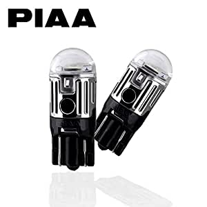 【Amazon.co.jp 限定】 PIAA ( ピア ) ポジションランプ 1W 85lm 【6000K】 T10 2個入 高光度ハイスペックLED X7319