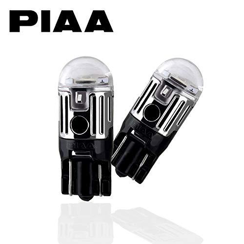 【Amazon.co.jp限定】PIAA ポジション用 LED T10 6600K 85lm 高光度ハイスペックLED_車検対応 2個入 12V 1W 定電流回路内蔵 X7318