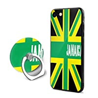 IPhone 7 / IPhone 8 Jamaican Kingdom Flag ジャマイカ王国の旗 ケース リング付き TUPソフトシェル 耐衝撃カ 全面保護 軽量 薄型 指紋防止 落下防止 取り出し易い 360回転 スタンド機能 携帯カバー 擦り傷防止 耐久 おしゃれ 高級感 4.7インチ スマホケース 贈り物