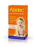 Abidec Multi Vitamin Supplement for Babies & Children Drops 25ml