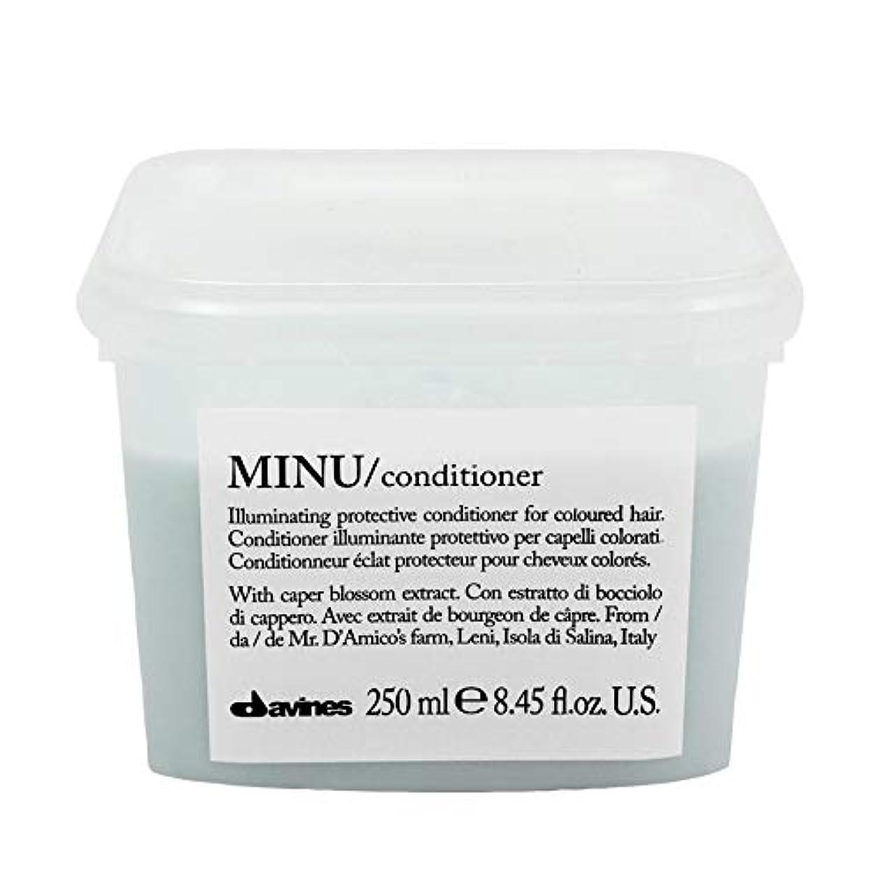 不適当策定するテンション[Davines ] ダヴィネスぬコンディショナー250ミリリットル - Davines Minu Conditioner 250ml [並行輸入品]