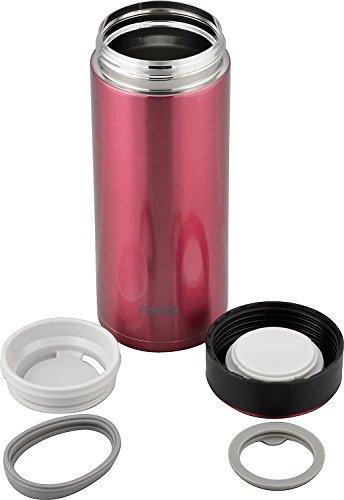 『和平フレイズ 水筒 マグボトル 600ml レッド 真空断熱 保温 保冷 サースティ フォルテックパーク FPR-6362』の6枚目の画像