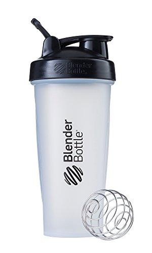 ブレンダーボトル 【日本正規品】 Blender Bottle Classic w/Loop 28オンス (800ml) Clear ブラック BBCLE28 BK
