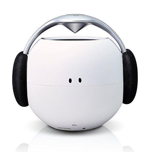 ポータブル Bluetooth スピーカー COWIN ワイヤレススピーカー【ホワイト/強化された低音 /NFC搭載/ IPX5防水規格 / デュアルドライバー / マイク内蔵】