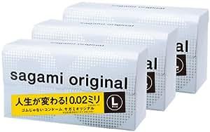 サガミオリジナル 002 Lサイズ 12個入り×3箱