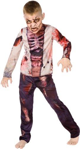 Zombie Child Costume ゾンビチャイルドコスチューム♪ハロウィン♪サイズ:Medium