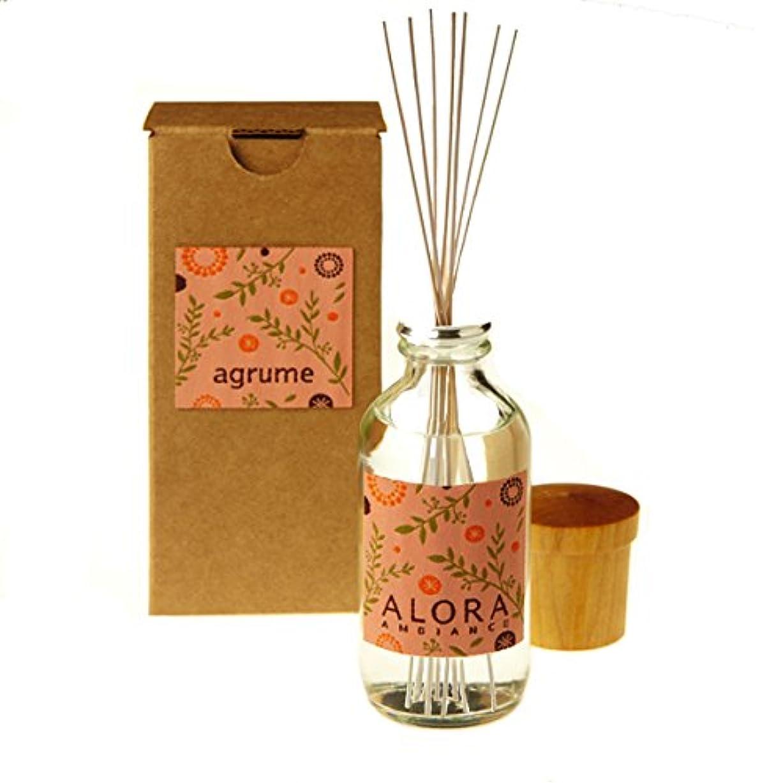 まどろみのある梨不規則性ALORA AMBIANCE リードディフューザー (小) agrume