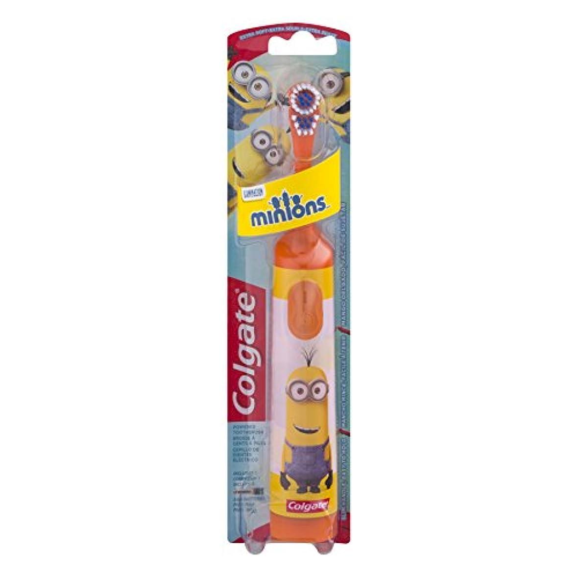 冷笑するウィスキー切り離すColgate キッズ手下バッテリ駆動歯ブラシ - 1CT - 色やデザインは変更になる場合があります