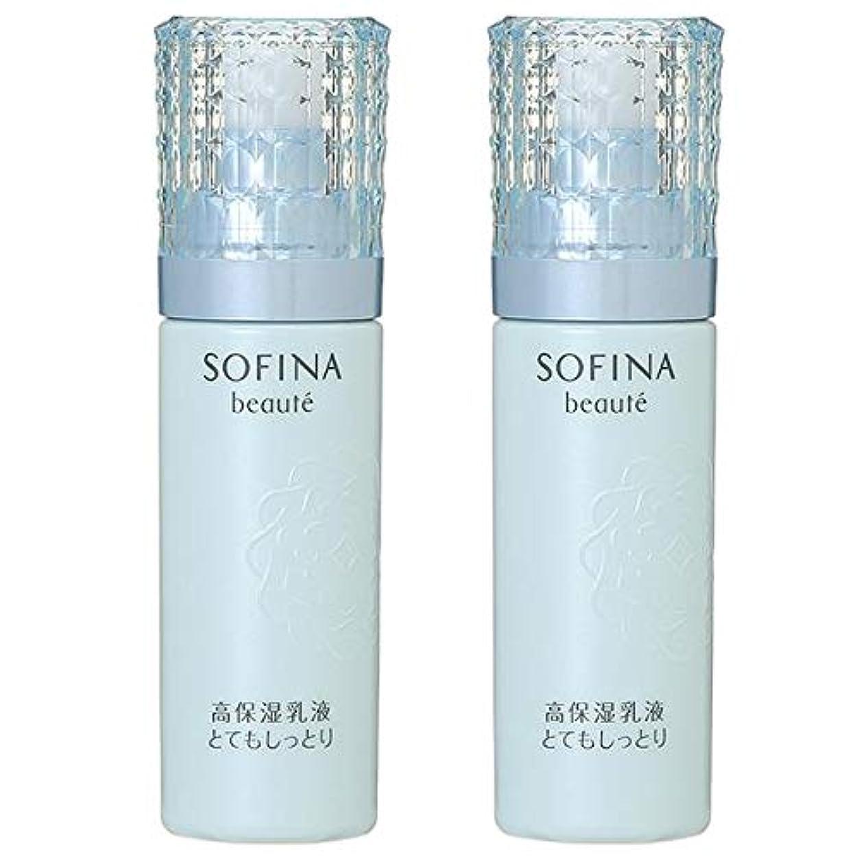 通りひもグラフ【セット】花王 ソフィーナ ボーテ SOFINA 高保湿乳液 とてもしっとり 60g 2個セット 【医薬部外品】