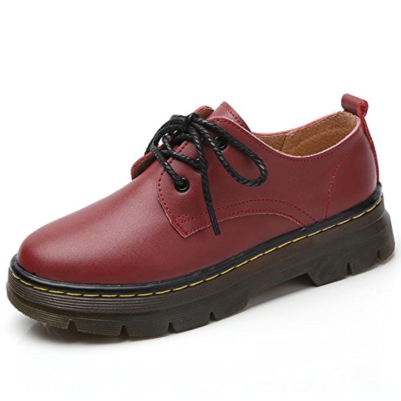 JIANXI ウィングチップ スニーカー シューズ 革靴 ランニングシューズ ウォーキングシューズ レディース オックスフォード パンプス おしゃれ ぺたんこ 厚底 通勤 通学 紐靴 美脚 女性