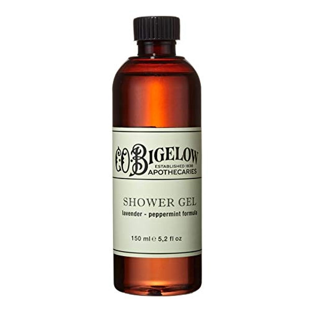 キャプション明確な甘美な[C.O. Bigelow] C.O.ビゲローラベンダー、ペパーミントシャワージェル150Ml - C.O. Bigelow Lavender and Peppermint Shower Gel 150ml [並行輸入品]