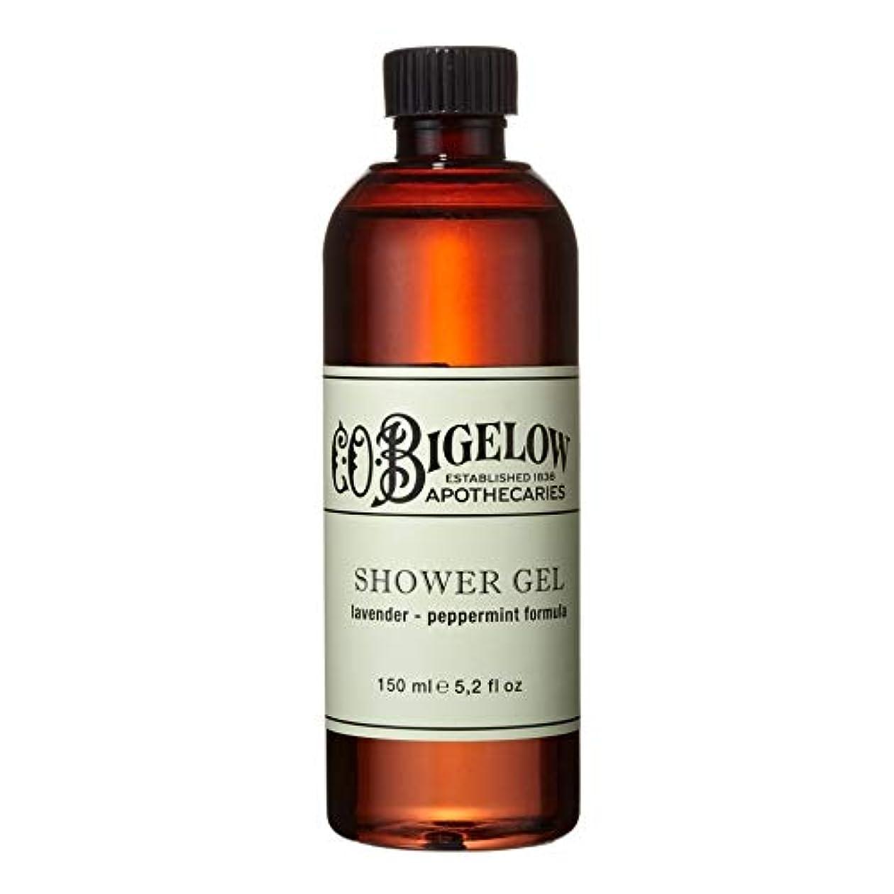 冷酷なスクラッチ少し[C.O. Bigelow] C.O.ビゲローラベンダー、ペパーミントシャワージェル150Ml - C.O. Bigelow Lavender and Peppermint Shower Gel 150ml [並行輸入品]