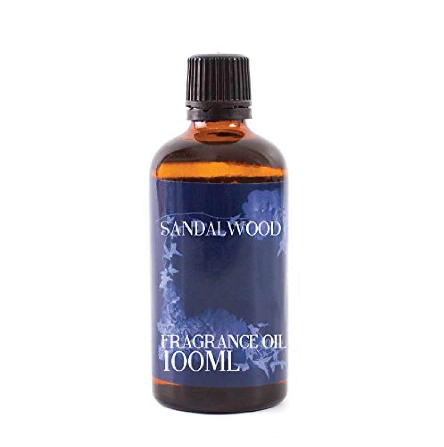 事務所無効にするスズメバチMystic Moments | Sandalwood Fragrance Oil - 100ml