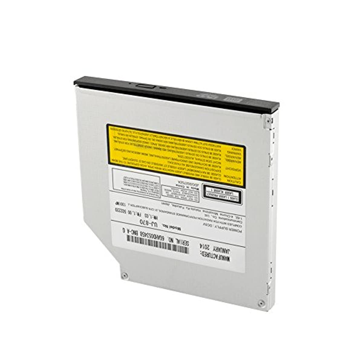 専ら本土矛盾Hanbaili ノートブック用HL-T50NのSuperDrive DVD CDバーナーライター内蔵SATA光学ドライブ