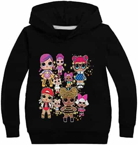 EmilyLe Boys Smile Face Mask Hoodie Kids Fashion DJ Long Sleeve Jumper Gifts for Children