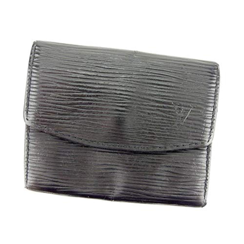 ルイ ヴィトン Louis Vuitton コインケース 小銭入れ レディース メンズ ポルトモネサーンプル M63412 エピ 中古 D1870