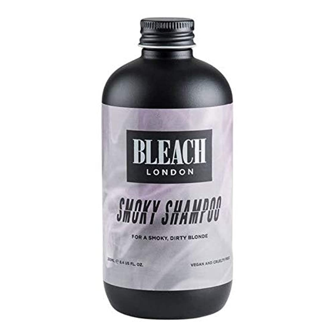 リング特許エネルギー[Bleach London ] 漂白ロンドンスモーキーシャンプー250Ml - Bleach London Smoky Shampoo 250ml [並行輸入品]