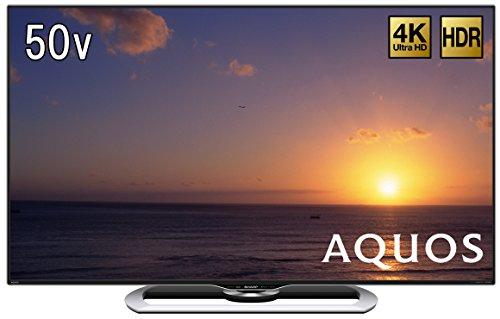 シャープ 50V型 4K対応 液晶 テレビ AQUOS LC-50U40 HDR対応 高精細4K低反射液晶パネル