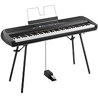 KORG 電子ピアノ SP-280-BK 88鍵 ブラック