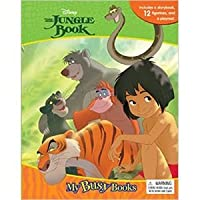 「Jungle Book:My Busy Books」 (本+ミニフィギュア12種) [並行輸入品]