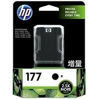 (まとめ) HP177 インクカートリッジ 黒 増量 C8719HJ 1個 【×3セット】 〈簡易梱包