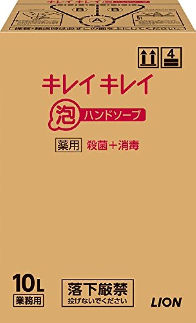 乱闘代表するチーター【大容量】キレイキレイ 薬用泡ハンドソープ 10L