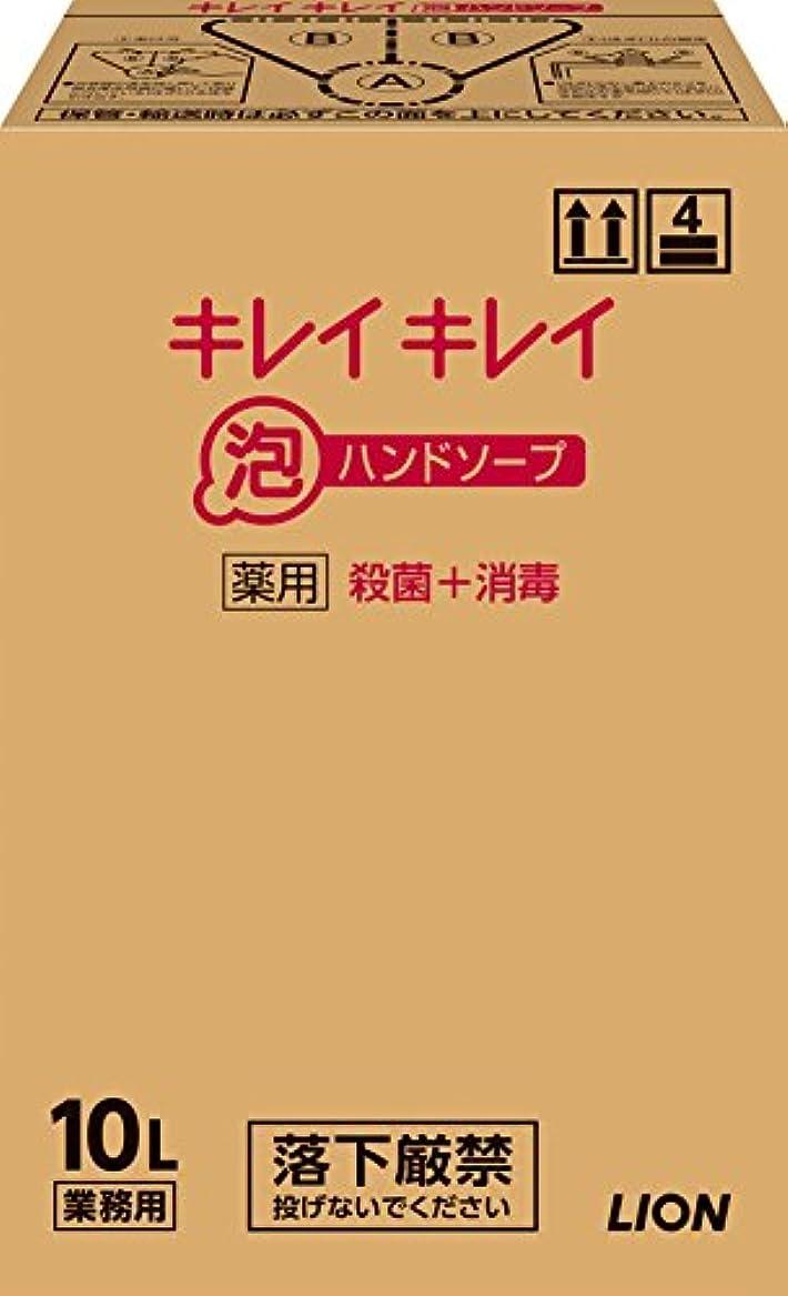 危機即席帳面【大容量】キレイキレイ 薬用泡ハンドソープ 10L