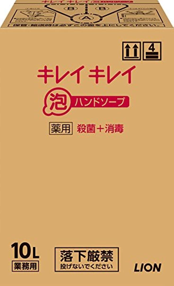 技術者血統バーマド【大容量】キレイキレイ 薬用泡ハンドソープ 10L