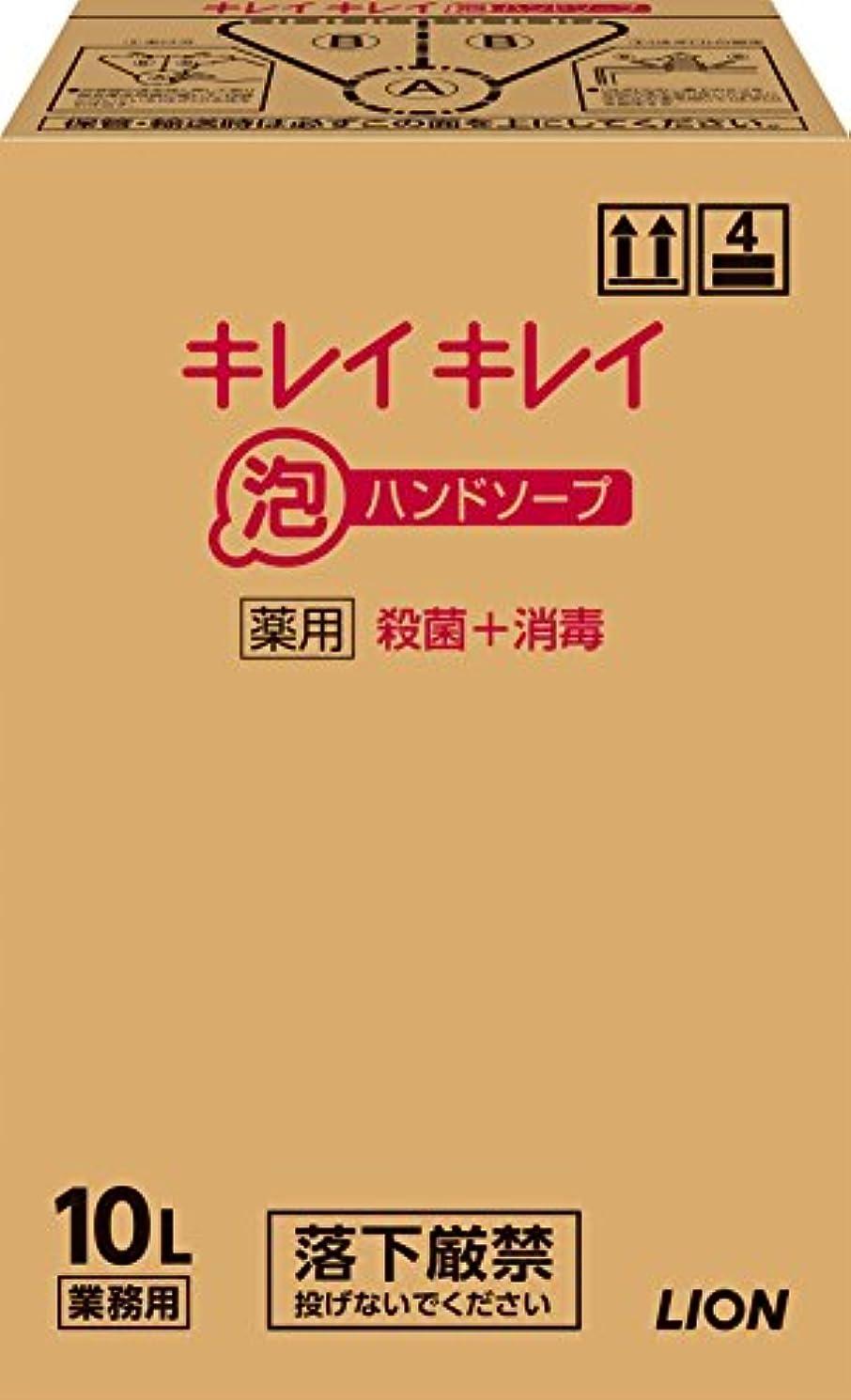 恐怖症干渉芸術【大容量】キレイキレイ 薬用泡ハンドソープ 10L
