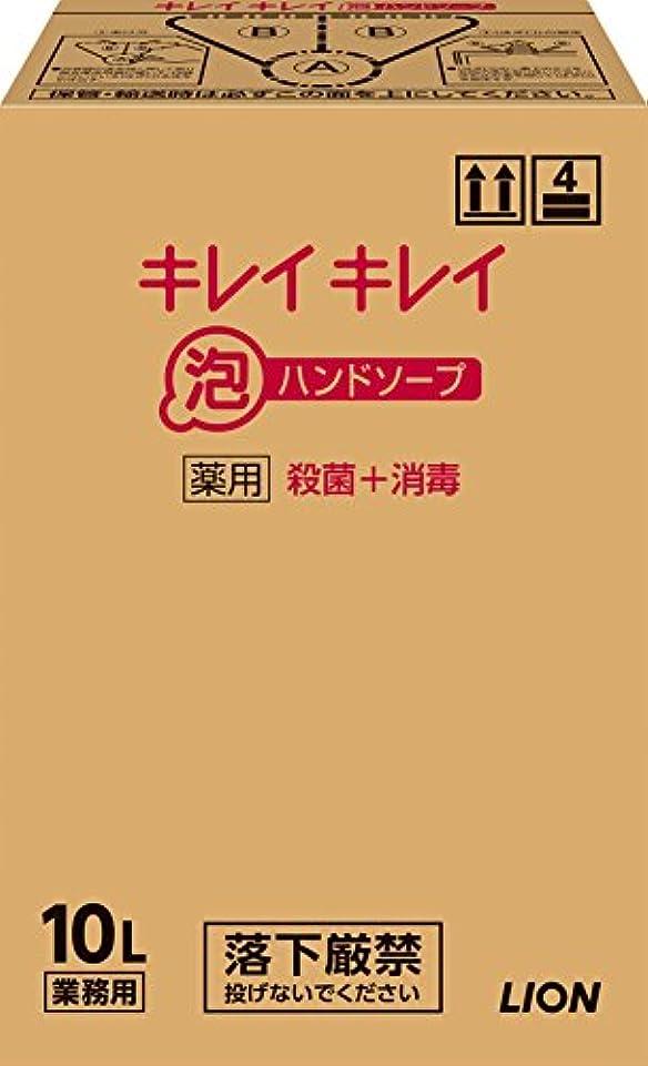 香水唯物論負担【大容量】キレイキレイ 薬用泡ハンドソープ 10L