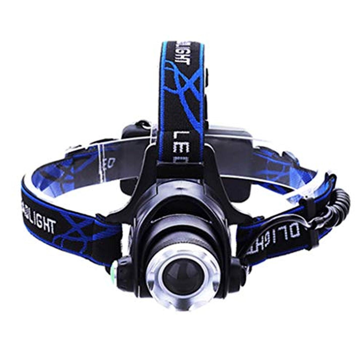 暫定計り知れないかすれたヘッドライト LEDヘッドライトグレア充電誘導ズームヘッドライト懐中電灯明るい防水ライトと快適な LEDヘッドライト