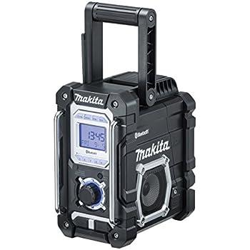 マキタ(Makita)  Bluetooth搭載 充電式ラジオ MR108B バッテリ・充電器別売  [カラー:黒]