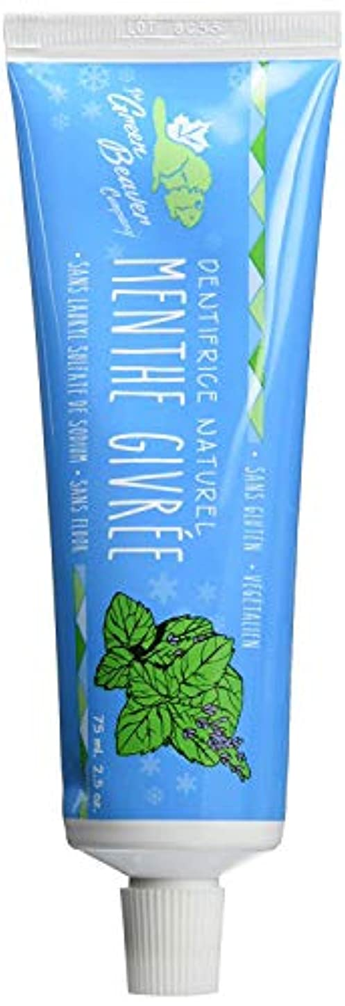 ムスタチオ領事館インセンティブGreen Beaver Toothpaste, Frosty Mint, 2.5 Ounce by Green Beaver