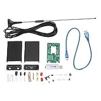 Homyl レシーバー USB チューナー R820T+RTL2832U CW DSB UV HF RTL-SDR 0.1MHz-1.7GHz DIYキット