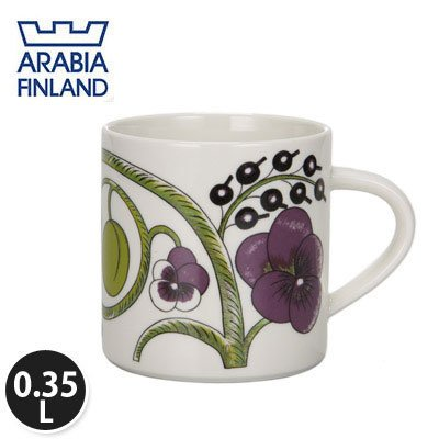 Arabia アラビア Paratiisi Purple パラティッシ パープル Purple マグ mug 0.35L 641180-008985-2 北欧食器 並行輸入品