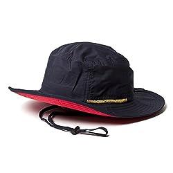 (ベーシックエンチ) BASIQUENTI テフロンサファリハット 帽子 品質検査済み撥水加工 レイン フェス バケット フリーサイズ 57cm-59cm