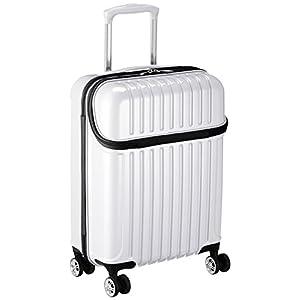 [アクタス] スーツケース トップス S 33L 3.2kg トップオープン 機内持ち込み 機内持込可 33.0L 53.5cm 3.2kg 74-20319 09 ホワイトカーボン