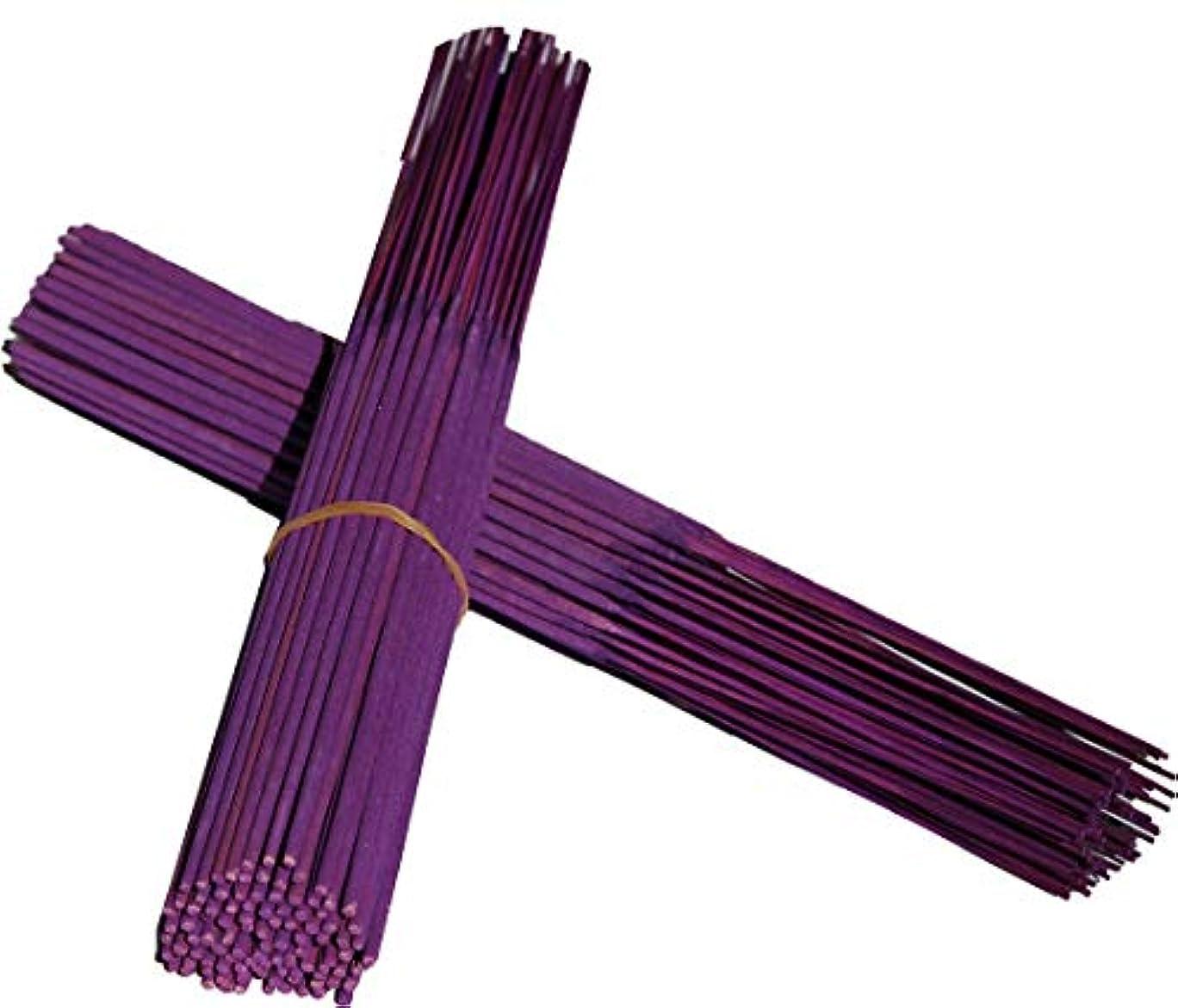 シンプルな適用するおなかがすいた無香Incense Sticksパープル色Sticks 11