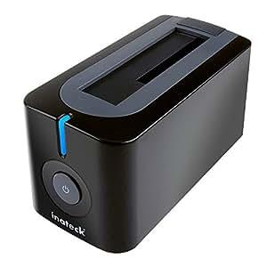 Inateck USB3.0 HDDスタンド 2.5型 / 3.5型 SATA HDD/SSD対応 ACアダプター付 (PC / Notebook / Mac使用可能、SATA3 UASPにサポート)