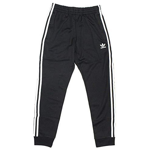 (アディダス) adidas ジャージー パンツ メンズ スーパースター トラック ジャージパンツ オリジナルス ブラック ホワイト