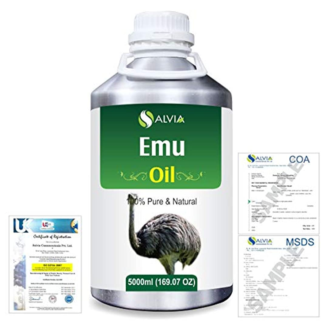 Emu 100% Natural Pure Oil 5000ml/169fl.oz.