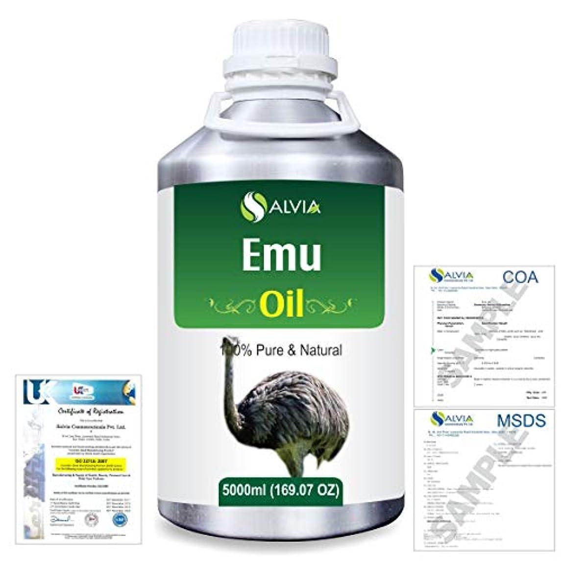 ケーブル癌国歌Emu 100% Natural Pure Oil 5000ml/169fl.oz.