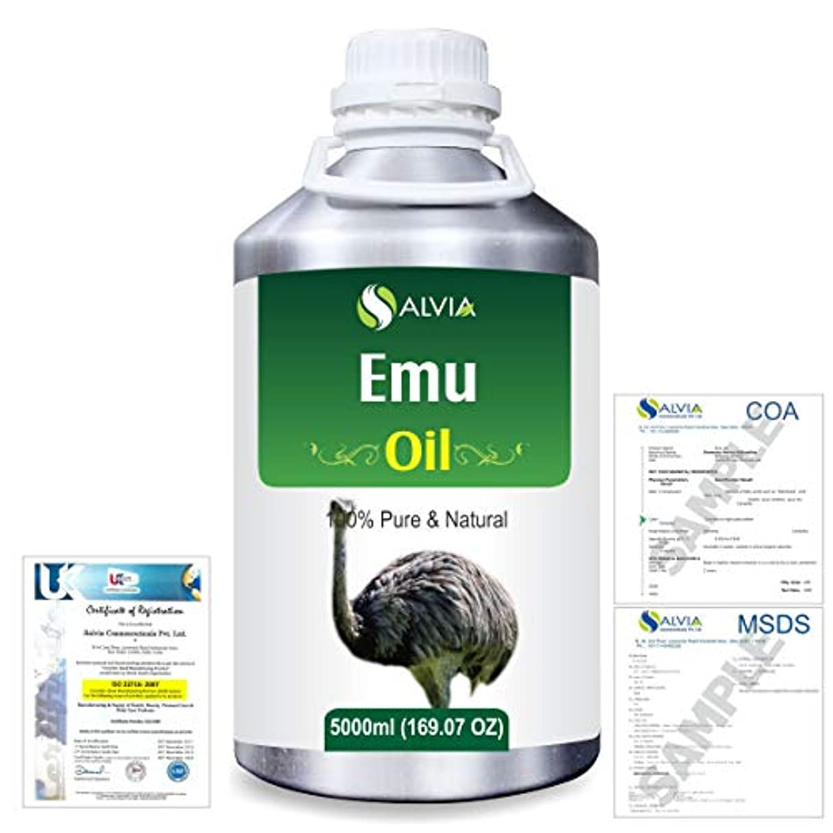 金曜日矢ところでEmu 100% Natural Pure Oil 5000ml/169fl.oz.