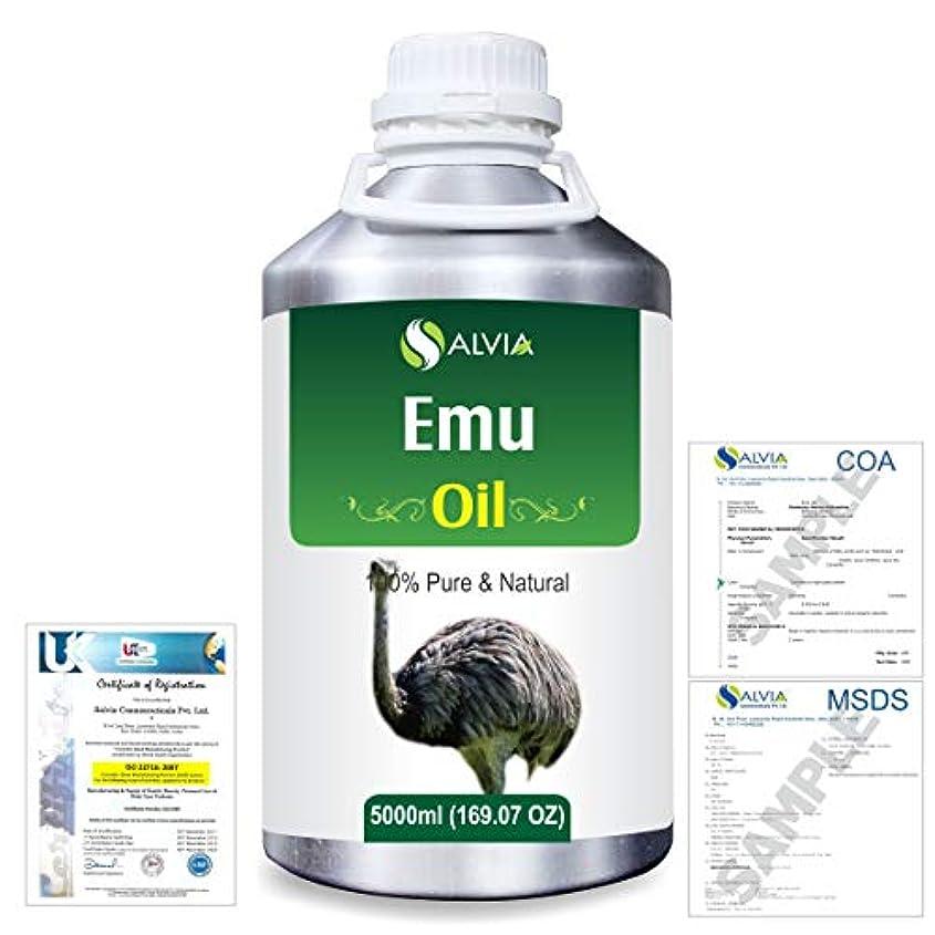 逮捕作成する拒絶するEmu 100% Natural Pure Oil 5000ml/169fl.oz.